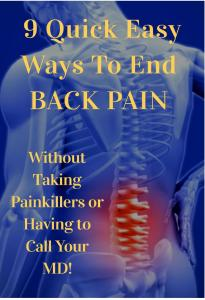 Nine Steps to Help Ease Low Back Pain