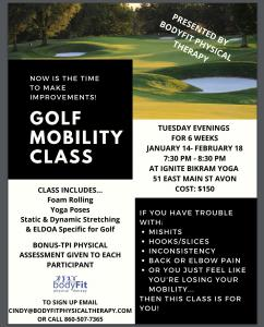 Golf Mobility Class